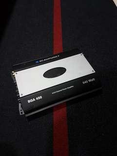 Blaupunkt 4 Channel Power Amplifier