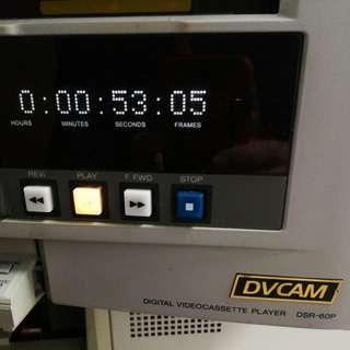 SONY DIGITAL VIDEO CASSETTE RECORDER DSR-60P
