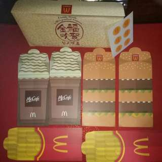 McCafe McDonald's Food $envelopes