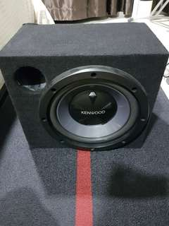 "Kenwood 12"" Subwoofer with Box"