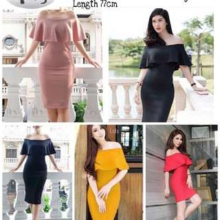 795 dress raynita @115. Import bahan wedges tebal good quality sleting blkg. Redi jkt