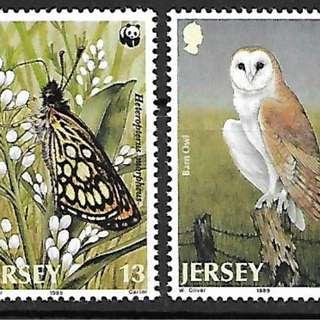 澤西島1989WWF兩棲動物4全新