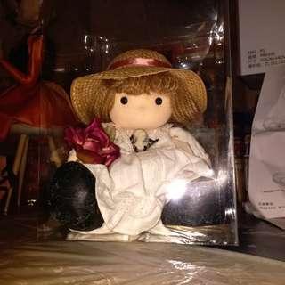 八十年代 日本製 搖頭娃娃 上鍊音樂盒