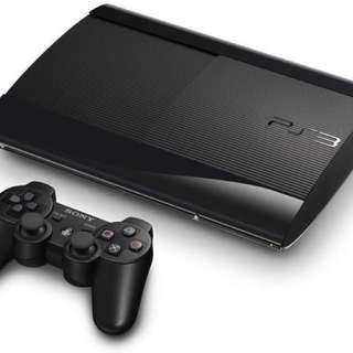 ⭐️ PS3 Super Slim 500GB and Games