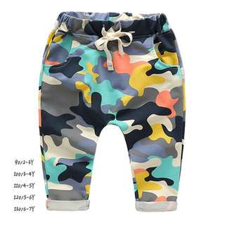 Baby Boy Camouflage Pants