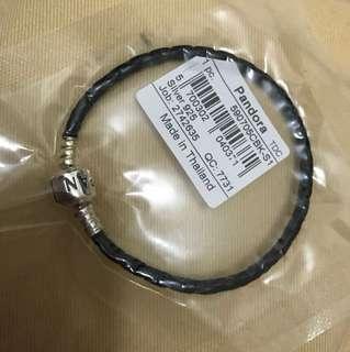 Pandora 黑色皮繩