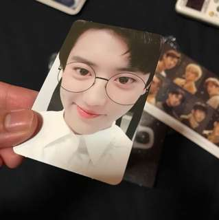 EXO winter album 2017 - PCY Chanyeol Photocard PC only