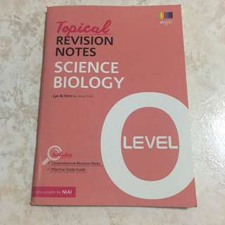 Topical Revision Notes Biology