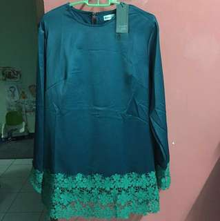 Emerald Green Blouse