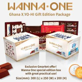 Wanna One Ghana x YO-HI Gift Edition Package