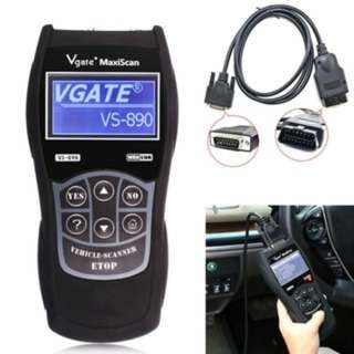 VS890 OBD2 Car Fault Code Scanner Data Diagnostic Engine Check Multi-language