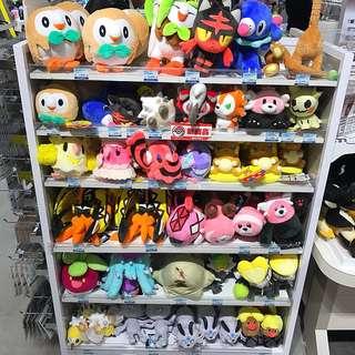 (MASS SALE) Pokemon Center Japan Original Assorted Plushie Soft Toys