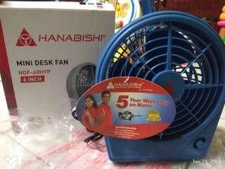 Hanabishi desk fan  6 inch