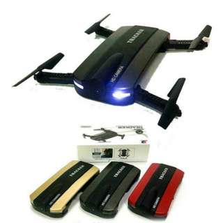 BNIB Drone Pocket Portable Camera Selfie (left red & black)