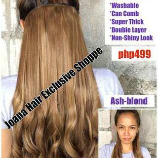 Aloha Big curl Clip on hair extension