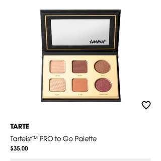 Tarte pro to go palette