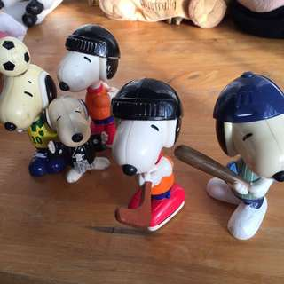 McDonalds vintage snoopy figurines - take all for 80