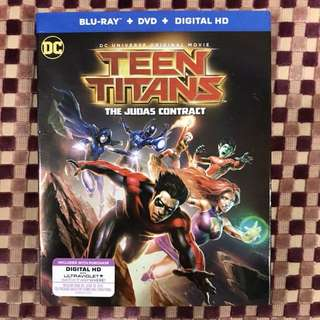 DC Universe: Teen Titans - The Judas Contract (Blu-ray + DVD)