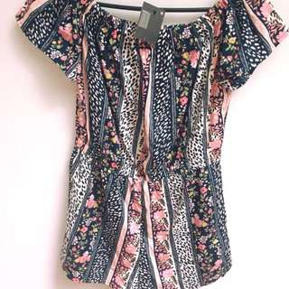 Off the should playsuit (never worn)
