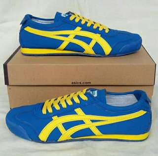 Asics Tiger Onitsuka Blue Yellow Sweden