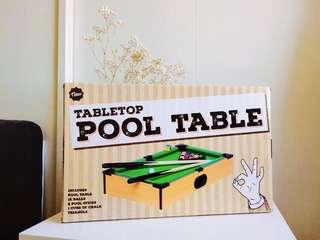 Tabletop Pool Game