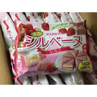北日本 三角型迷你草莓蛋糕