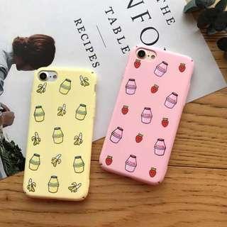 [po] tumblr korean banana milk phone case