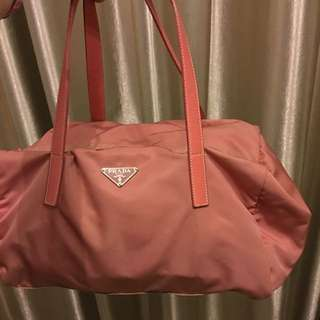 Prada Pink Colour Handbag Bag Backpack 背包 側揹 手袋