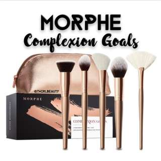 Instock | Morphe Complexion Goals Makeup Brush Set