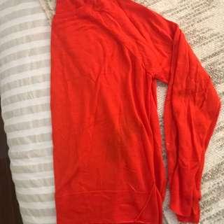 Zara Knit Sweater - Red