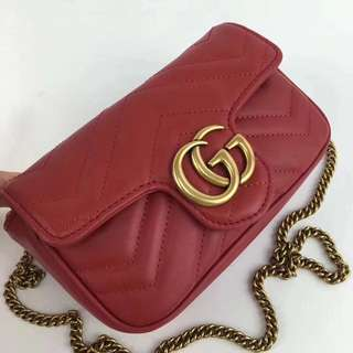 GUCCI mini leather cross body bag