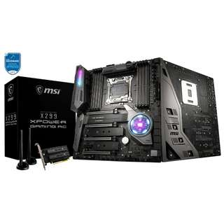 MSI X299 XPOWER GAMING AC w/VROC Key (Intel® X299 Chipset)