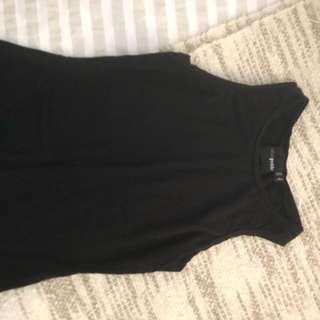 Black ASOS petite top