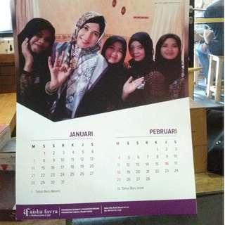Kalender 2018 Dinding Murah Foto Sendiri Kalibata