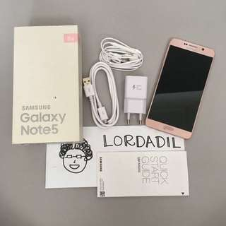 Samsung Galaxy Note 5 32Gb Pink Duos Dual Sim