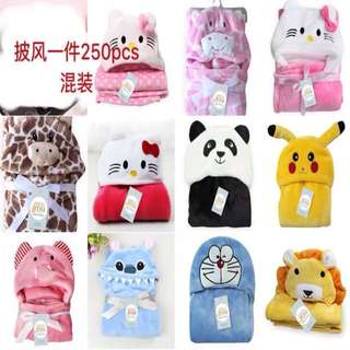 Baby's Hooded Blanket Towel Hoodies