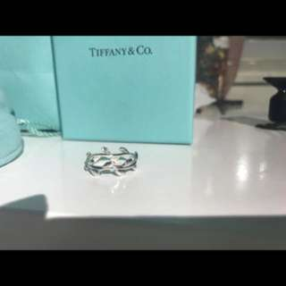 Tiffany&Co Leaf ring