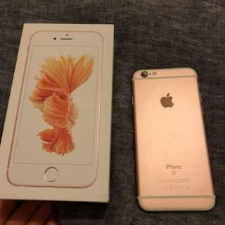 iPhone 6s Rose Gold perfect condition 64g