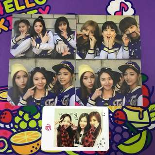 Twice Group Photocard
