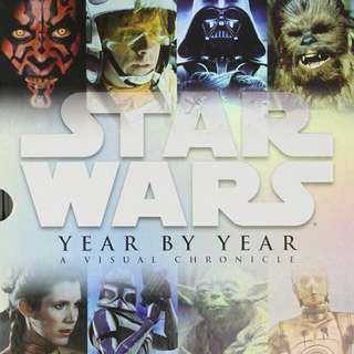 Star Wars Year By Year  Hardcover Book By DK Publisher