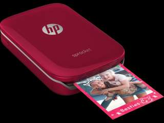 HP Sprocket Red