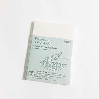 bnip midori A6 grid notebook
