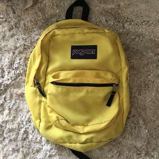 Jansport Yellow Backpack