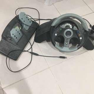 Mc 2. Car game stirring wheel set