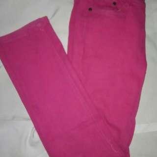 Skinny jeans Pink.