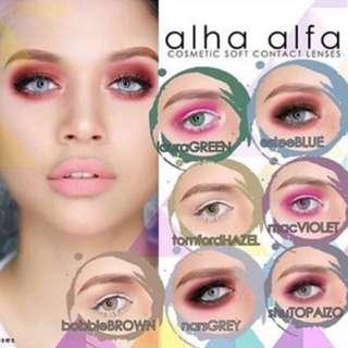 Alha Alfa Contact Lens
