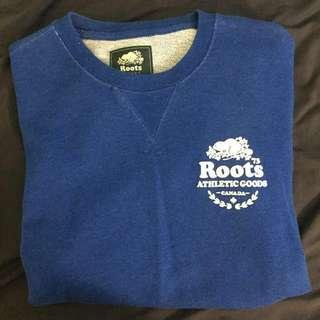 Blue roots shirt