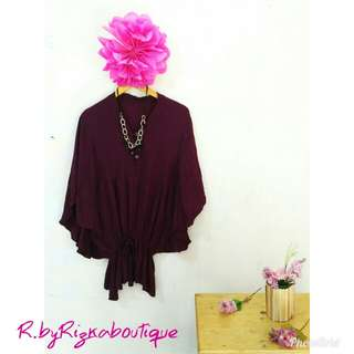 Maroon Batwing 🏪 🏫OFFICE HOUR OFFER 🏫🏪