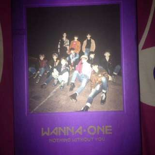 Album wanna one nothing without you