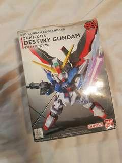 SD EX DESTINY GUNDAM